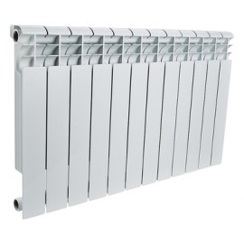 ROMMER Profi 500 (AL500-80-80-100) радиатор алюминиевый (RAL9016)