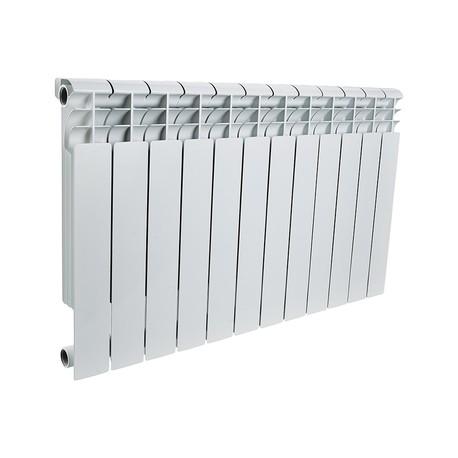 ROMMER Profi 500 (AL500-80-80-100) 12 секции радиатор алюминиевый (RAL9016)