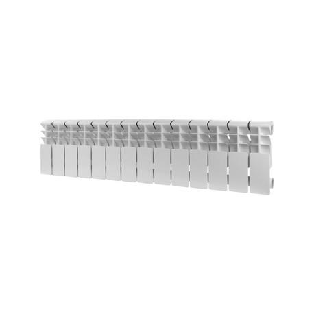ROMMER Plus 200 14 секций радиатор алюминиевый (RAL9016)