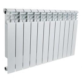 ROMMER Profi 350 (AL350-80-80-080) радиатор алюминиевый (RAL9016)