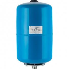 STOUT 20 л. Расширительный бак, гидроаккумулятор вертикальный (цвет синий)