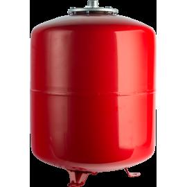 STOUT 80 л. Расширительный бак на отопление (цвет красный)