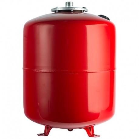 STOUT 100 л. Расширительный бак на отопление (цвет красный)