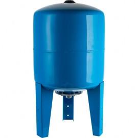 STOUT 150 л. Расширительный бак, гидроаккумулятор вертикальный (цвет синий)