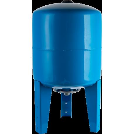 STOUT 200 л. Расширительный бак, гидроаккумулятор вертикальный (цвет синий)