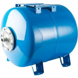 STOUT 200 л. Расширительный бак, гидроаккумулятор горизонтальный (цвет синий)