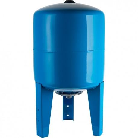 STOUT 300 л. Расширительный бак, гидроаккумулятор вертикальный (цвет синий)