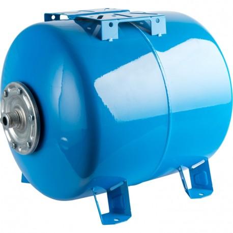 STOUT 300 л. Расширительный бак, гидроаккумулятор горизонтальный (цвет синий)