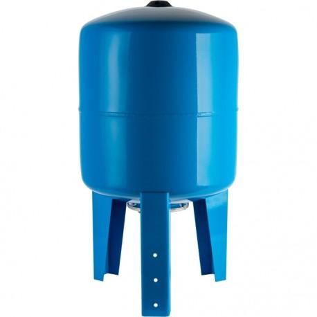 STOUT 500 л. Расширительный бак, гидроаккумулятор вертикальный (цвет синий)